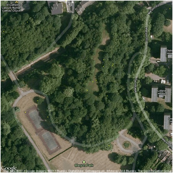 Maryon Park, Charlton, London John Davies
